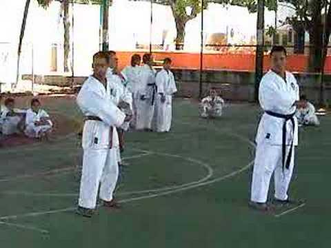 Watch video Síndrome de Down: Kata en equipo