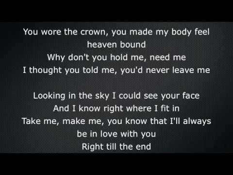 Try Sleeping With A Broken Heart - Alicia Keys -Lyrics On Screen
