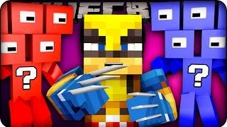 Minecraft - LUCKY BLOCK BOSS CHALLENGE - SUPERHERO EDITION ! (Lucky Block Mod / SuperHero Mod)