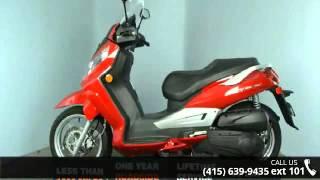 10. 2009 SYM Citycom 300 Only 140 Miles! - SF Moto - San Fran...
