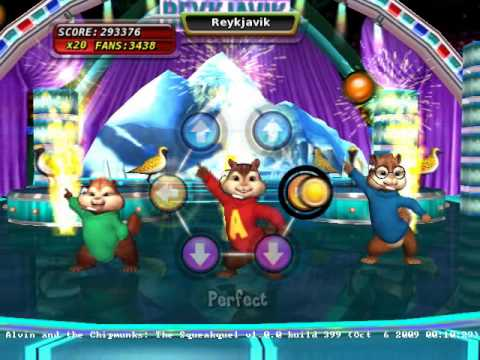 alvin and the chipmunks the squeakquel wii review