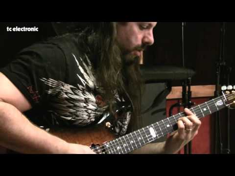 John Petrucci doing TonePrints for TC Electronic's Shaker Vibrato - dirty sounds