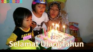 Lagu Anak Indonesia Selamat Ulang Tahun - Happy Birthday Song