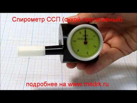 Спирометр ССП портативный