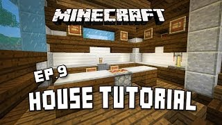 How To Make A Modern Kitchen In Minecraft  (Scarland Fishing Cabin Part 9)