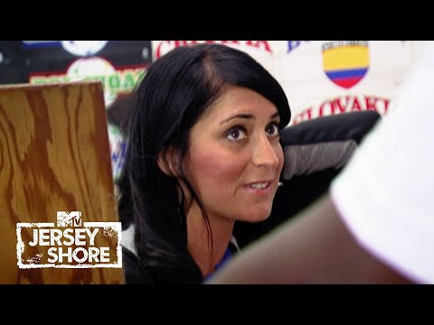Angelina Takes The Day Off 😬 Jersey Shore Throwback Clip