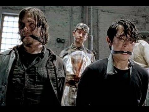 "The Walking Dead After Show Season 5 Episode 1 ""No Sanctuary"" | AfterBuzz TV"