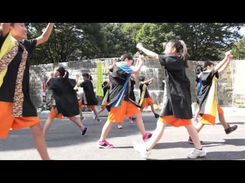 八王子市立みなみ野中学校ダンス部さん 第2回東京舞祭2015 秋