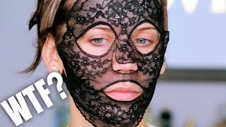$330 LACE FACE MASK ... WTF ??? by Glam Life Guru