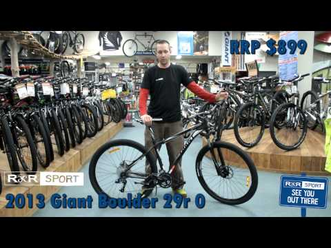 2013 Giant Boulder 0 29er Mountain Bike Review