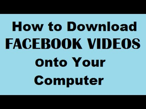 How to Download Facebook Videos onto Your Computer – Safely in MP4 Format