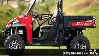 3. 2015 Polaris Ranger XP 900 EPS Sunset Red  - Action Power...