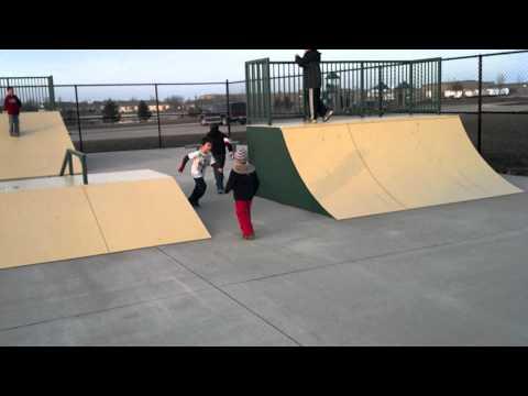 Skate park in Watseka