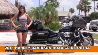 6. Used 2011 Harley Davidson Road Glide Ultra Motorcycles for sale