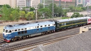 Ulan Hot China  City new picture : DF4C, China Railway中国铁路(Ulanhot to Beijing Train)
