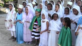 Ethiopian Orthodox Tewahedo Saint Mary Cathedral, Toronto, Canada - Children's Choir