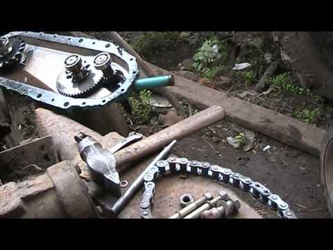 Замена двигателя на культиватор крот своими руками