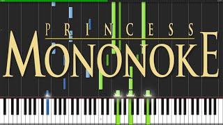 Video Princess Mononoke Medley [Piano Tutorial] (Synthesia) // ThePandaTooth MP3, 3GP, MP4, WEBM, AVI, FLV Juni 2018