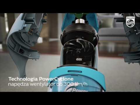 Odkurzacz PHILIPS PowerPro Aqua 3w1 FC6409/01