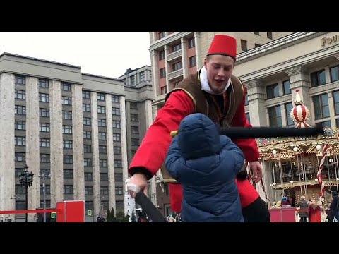 Moskau feiert 5. Jahrestag der Krim-Annexion