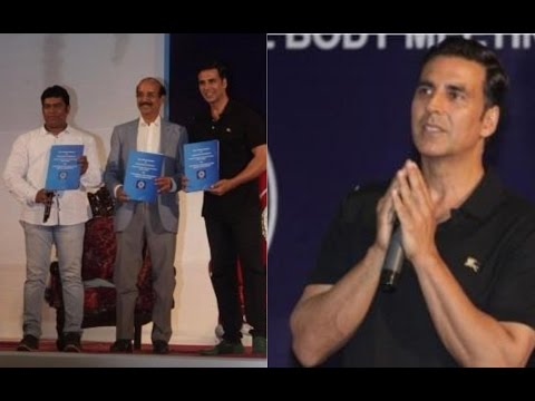 Akshay kumar At Movie Stunt Artist's Committees General Body Meeting
