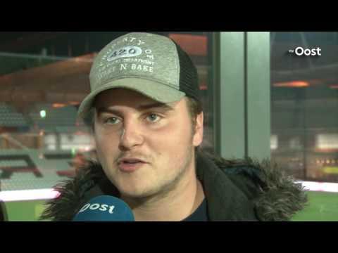 Twentefans bij duel tweede team Heracles Almelo