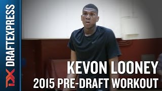 Kevon Looney 2015 NBA Draft Workout Video