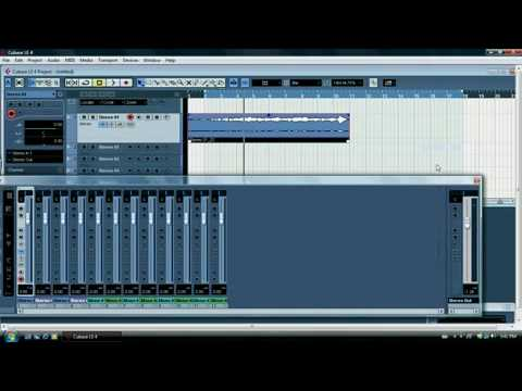Cubase lesson 2a no audio on playback.avi