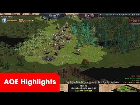 AOE HighLights - Kèo thi đấu 2vs2 Hồng Anh cầm Assy và cân 3