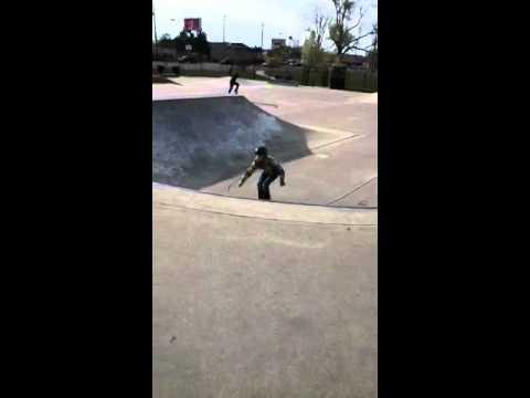 Front flip on rollerblades, Taylorsville Utah