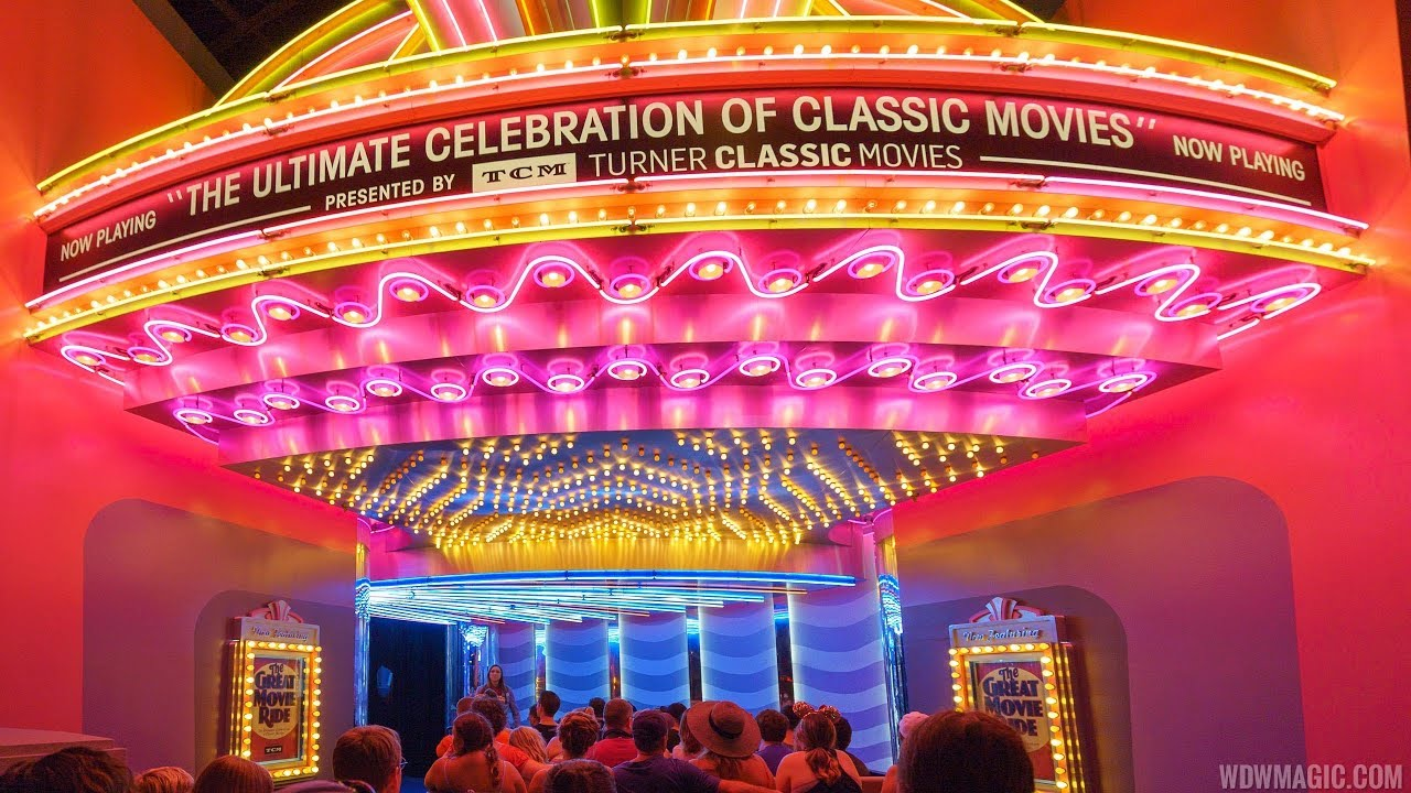 The Great Movie Ride with Gangster and Bank Robber scenes