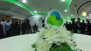 شاهد حفل إعادة إفتتاح معرض جوال في مدينة نابلس ، بتقنية 360 درجة