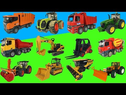 Best of Bruder toys 2018! Trucks, tractors, excavators!