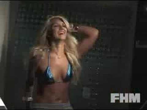 Brooke Hogan en el gimnasio