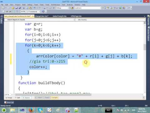 VD04 - Tạo Element HTML bằng JS