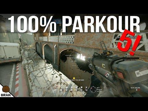 Parkour Tricks Episode #5! - Rainbow Six Siege