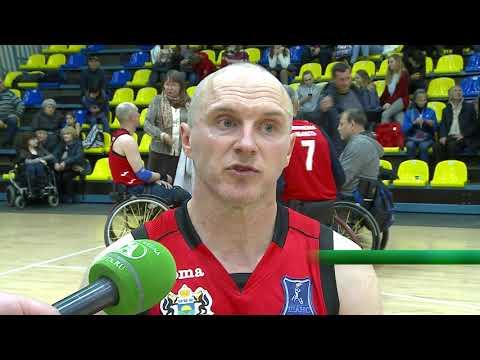 Всероссийский турнир по баскетболу на колясках в Тюмени