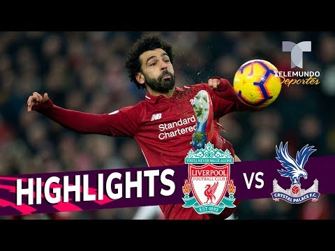 Liverpool Vs. Crystal Palace: 4-3 Goals & Highlights | Premier League | Telemundo Deportes