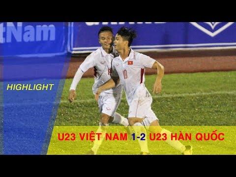 U23 VIỆT NAM vs U23 HÀN QUỐC | U23 VIỆT NAM CHÍNH THỨC GIÀNH QUYỀN DỰ VCK 2018
