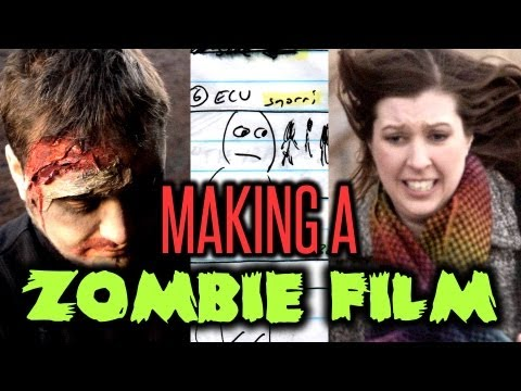 Making a Zombie Film! Behind-the-Scenes : Indy News