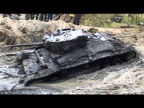 Polonia: encuentran un tanque de la II Guerra Mundial entre el lodo del Varta