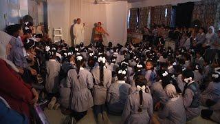 عرض مسرحي بعنوان الناطور في مدرسة بنات طولكرم الأساسية