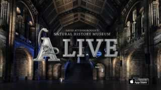 Natural History Museum Alive app trailer
