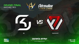 SK vs AVANGAR - Adrenaline Cyber League - map2 - de_mirage [ceh9, yXo]