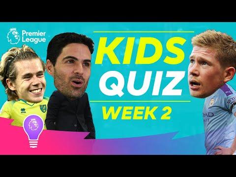 Premier League Kids Quiz   Episode 2