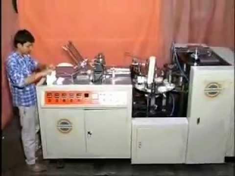 Paper Cup Making Machine Manufacturers Hyderabad / AP / India