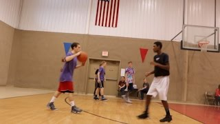 INTENSE 3 ON 3 BASKETBALL TOURNAMENT!! DID WE WIN??? THE REFS CALLED THE MOST BS EVER!!! SLAP A LIKE!