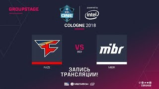 FaZe vs MIBR - ESL One Cologne 2018 - map1 - de_dust2 [ceh9, CrystalMay]