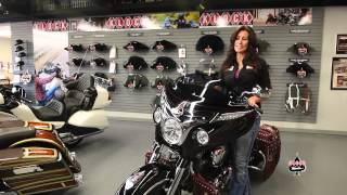 "8. Klock Werks Flareâ""¢ Windshield for Indian Motorcycles"
