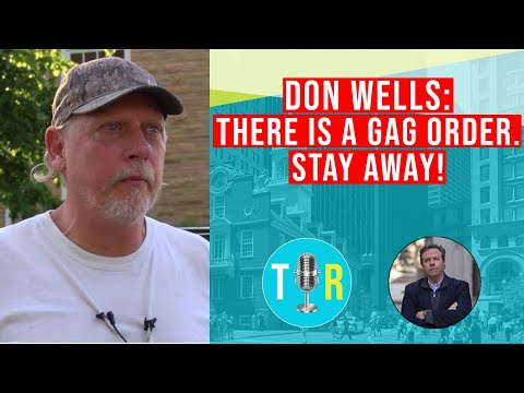 """DON WELLS: """"THERE'S A GAG ORDER. STAY AWAY! - THE INTERVIEW ROOM WITH CHRIS MCDONOUGH"""
